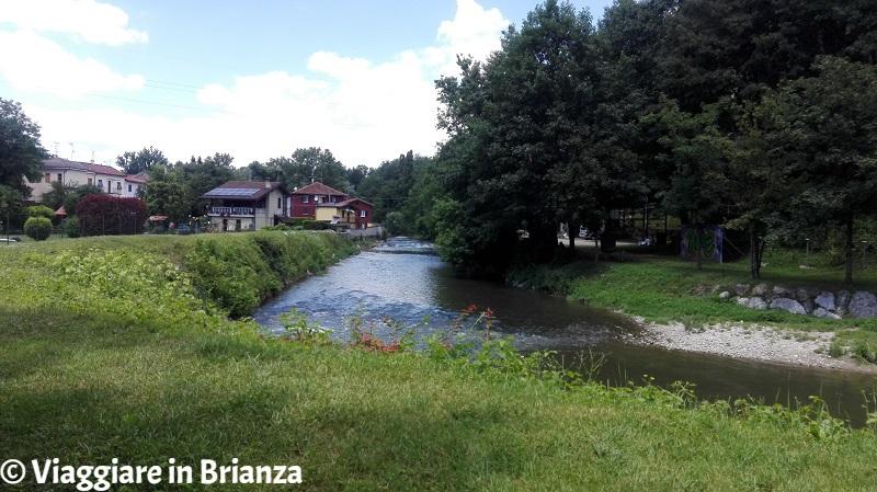 Il fiume Lambro al Molino Bassi