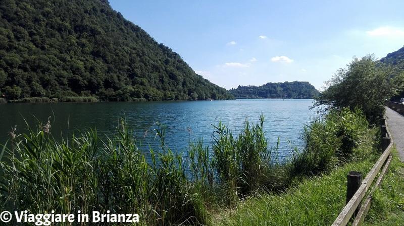 Il lago del Segrino è un lago balneabile in Brianza