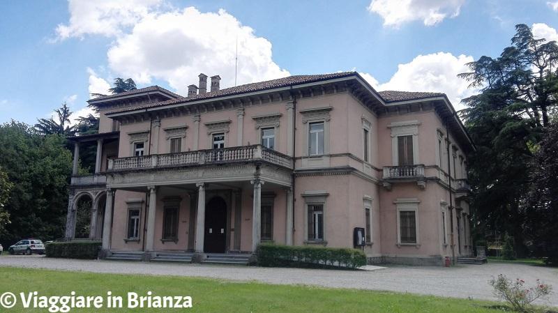 Il parco di Villa Campello ad Albiate