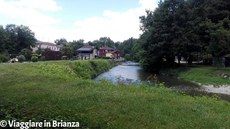 Sovico, il fiume Lambro
