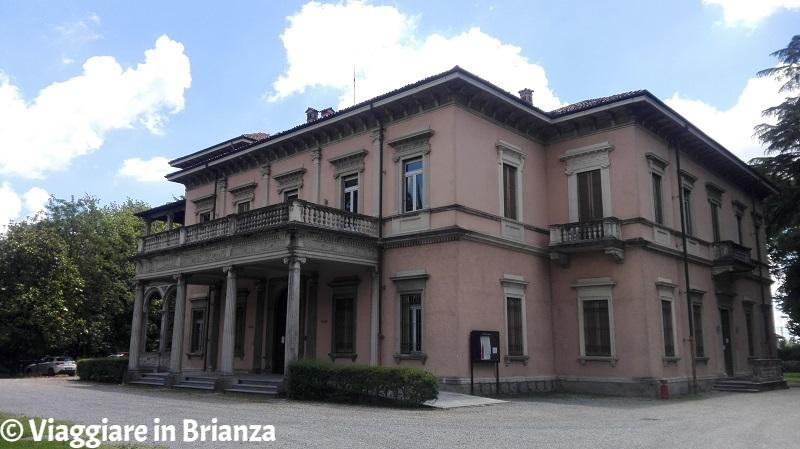 Villa Campello ad Albiate, il parco