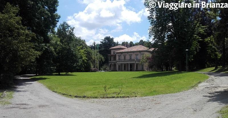 Villa Campello, il parco