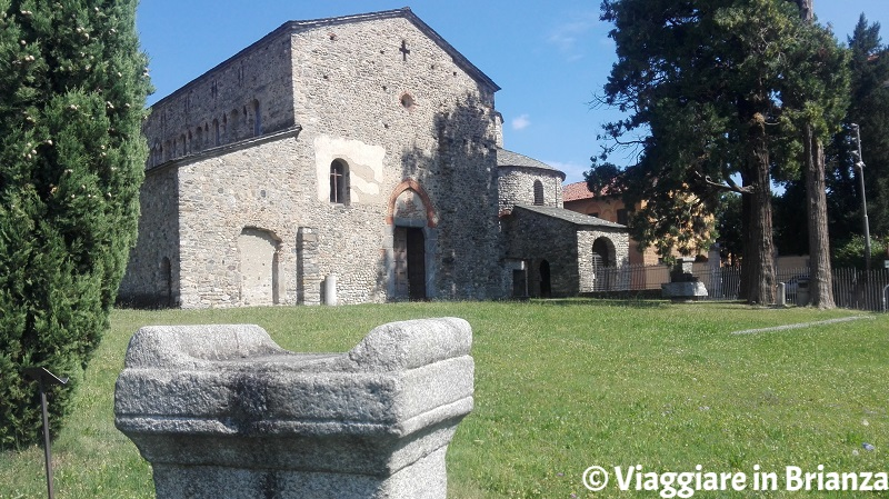 La Basilica di San Vincenzo a Cantù a Galliano