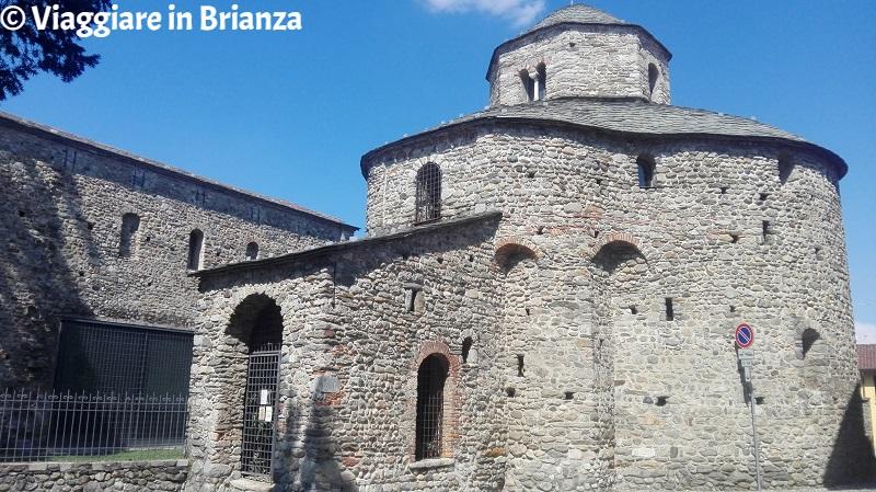 Il battistero della Basilica di Galliano