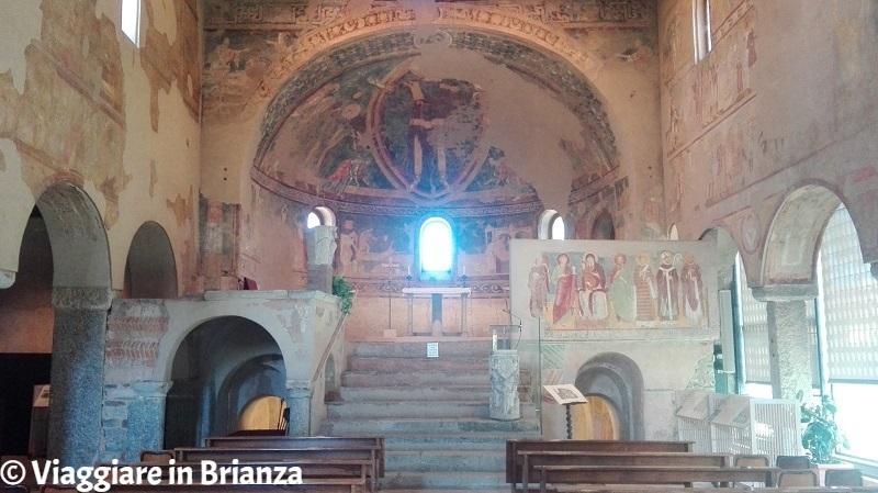Il catino absidale della Basilica di Galliano