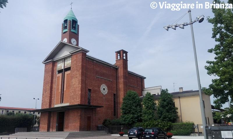 La Chiesa del Sacro Cuore a Mariano Comense