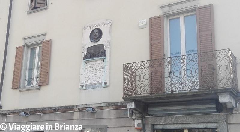 Cosa fare a Cantù, il balcone di Garibaldi