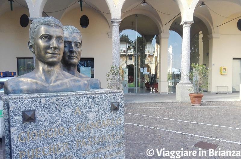 Cosa fare a Lambrugo, il monumento a Giorgio e Giancarlo Puecher