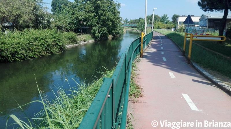 Cosa fare a Muggiò, la pista ciclabile sul Villoresi