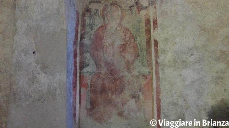 La cripta della Basilica di Galliano: la Madonna del Latte
