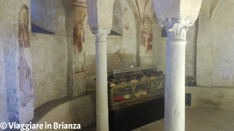 La cripta della Basilica di Galliano