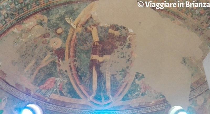 Il Cristo nella mandorla della Basilica di Galliano