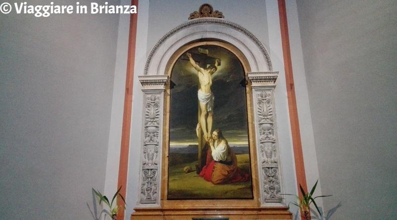 Il Crocifisso con la Maddalena nella Chiesa di Muggiò