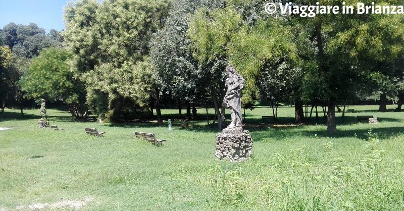 Limbiate, il Parco di Villa Mella