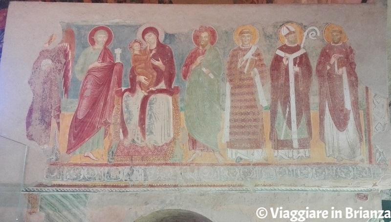 La Madonna col Bambino tra i Santi nella Basilica di Galliano