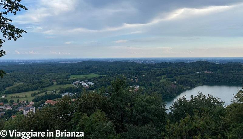 Montorfano, la vista dal Monte Orfano