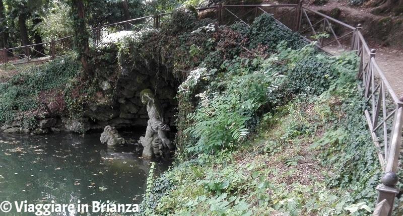 Parco di Monza, la Grotta di Nettuno