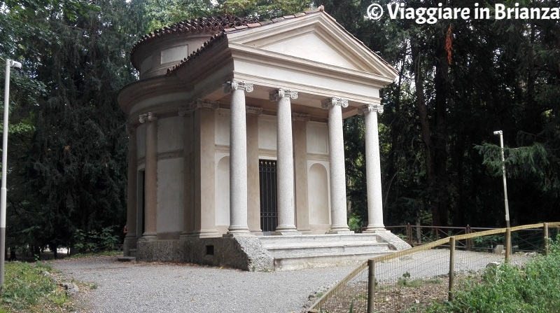 Parco di Monza, il Tempietto del Piermarini