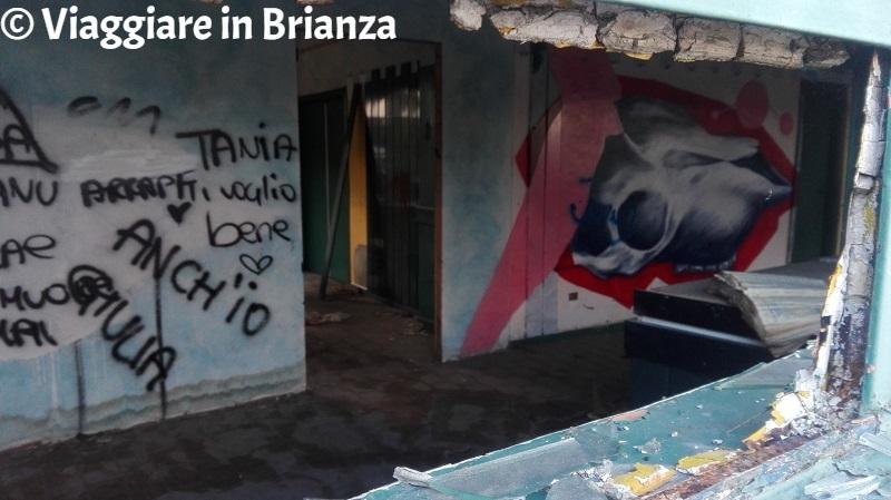 Transatlantico di Seveso, uno dei luoghi abbandonati in Brianza