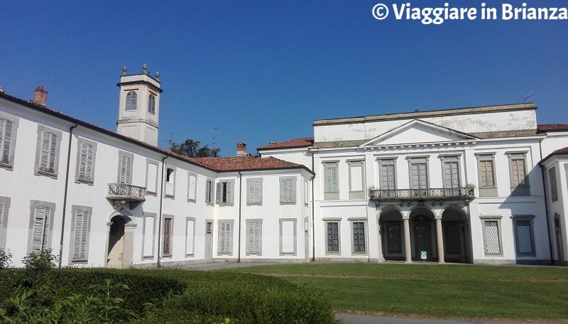 La biblioteca del Parco di Monza a Villa Mirabello