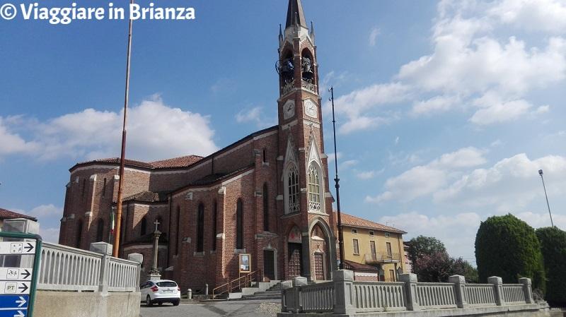 La Chiesa dei Santi Martiri Gervaso e Protaso a Triuggio