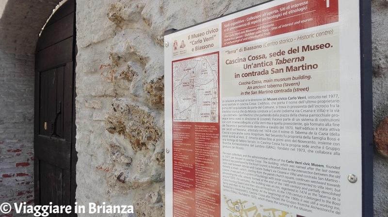 Cosa fare a Biassono, il Museo Verri