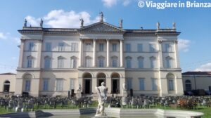Cosa fare a Desio, la facciata di Villa Tittoni