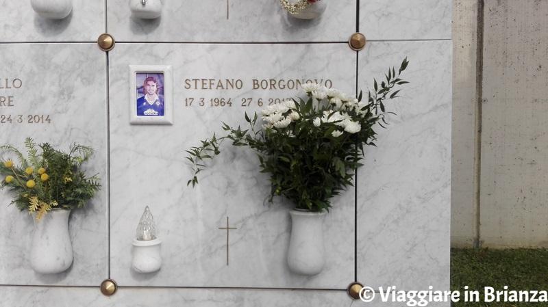 Cosa fare a Giussano, la tomba di Stefano Borgonovo