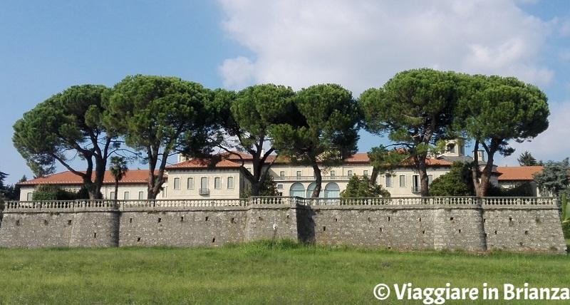 Il giardino di Villa Sacro Cuore