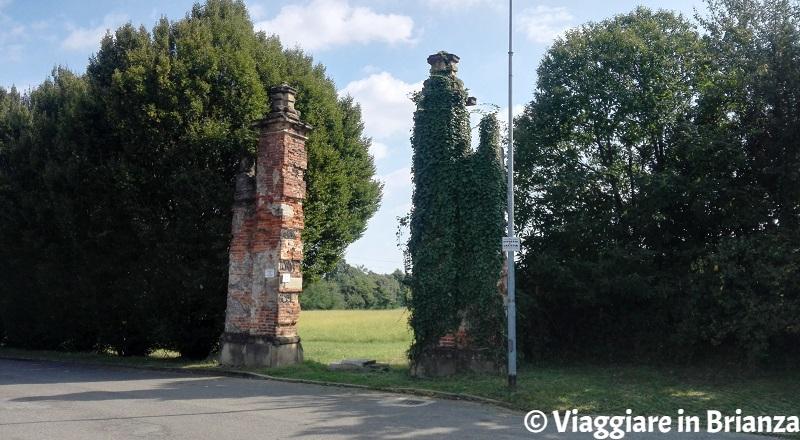 L'ingresso alla Valle del Pegorino da via dei Boschi