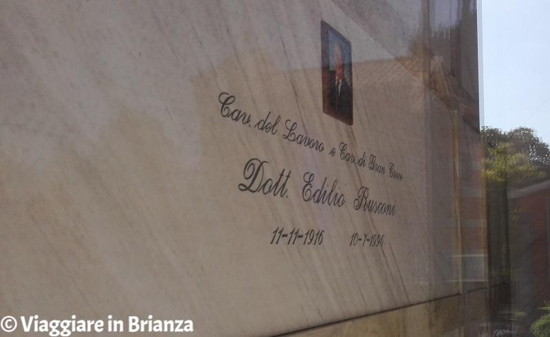 Tombe di personaggi famosi in Brianza, Edilio Rusconi