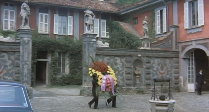 Villa Mella a Limbiate nel film Sessomatto