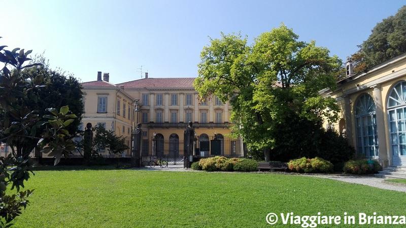Villa Nava vista dal Parco della Limonera