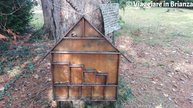 La casetta dei tesori nel Parco di Villa Dho a Seveso