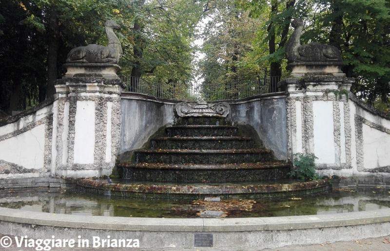Cesano Maderno, la Fontana dei Dromedari