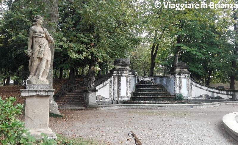 Il Giardino Arese Borromeo e la Fontana dei Dromedari