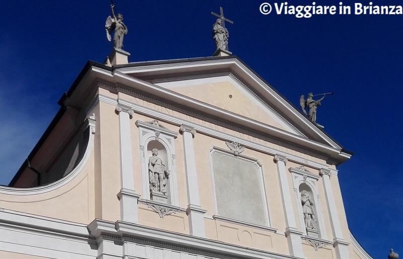Il Santuario del Santo Crocifisso a Meda, il Cristo Redentore in croce