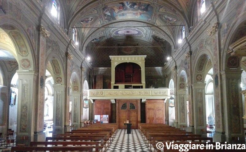 Santuario del Santo Crocifisso di Meda, gli interni