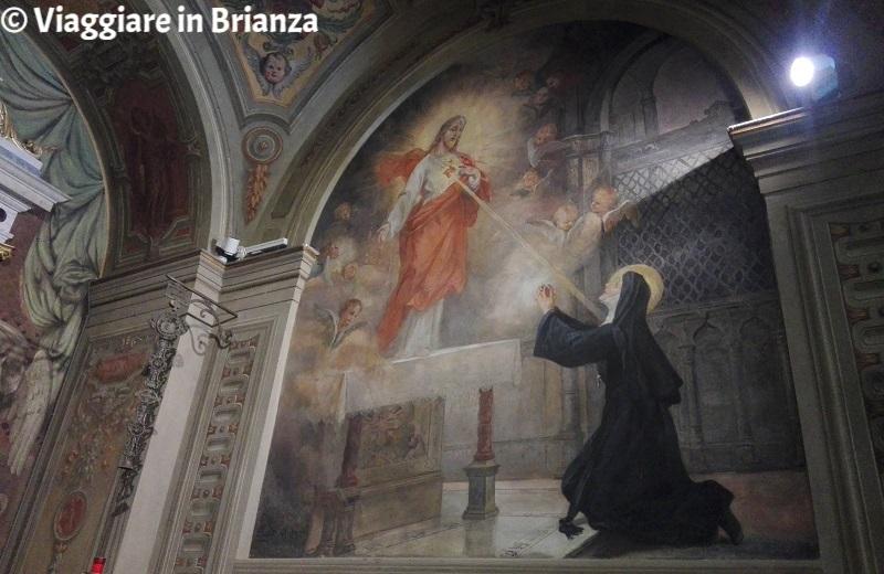 Santuario del Santo Crocifisso di Meda, Margherita Maria Alacoque