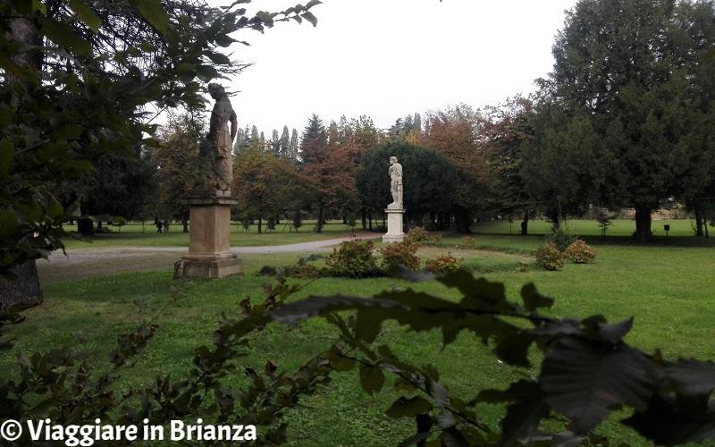 Le statue del Giardino Arese Borromeo