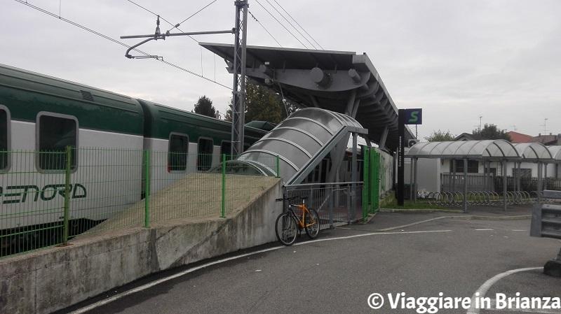 La stazione di Baruccana a Seveso