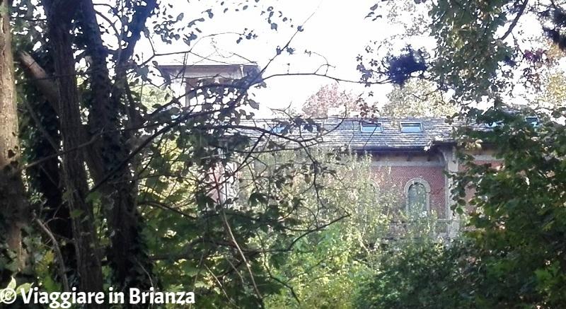 Villa La Peruviana dal Parco di Villa Dho a Seveso