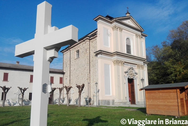 Alzate Brianza, il Santuario della Madonna di Rogoredo