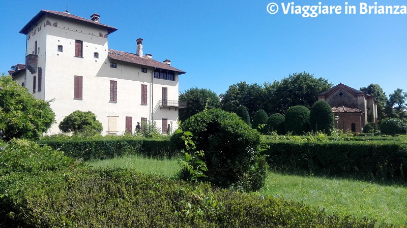 Carate Brianza, Villa Cusani