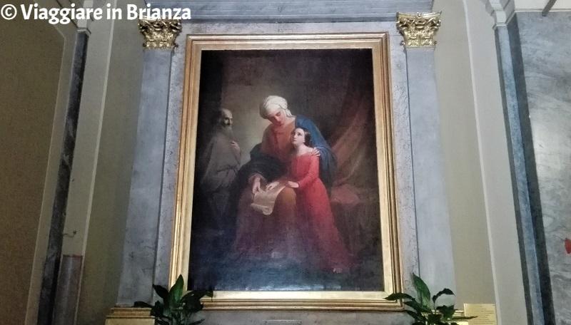 L'iniziazione della Vergine al Santuario di Rancate a Triuggio