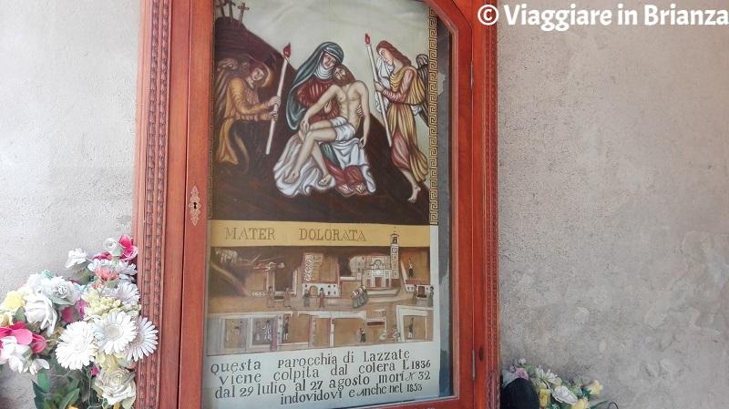 Lazzate, la Madonna del colera
