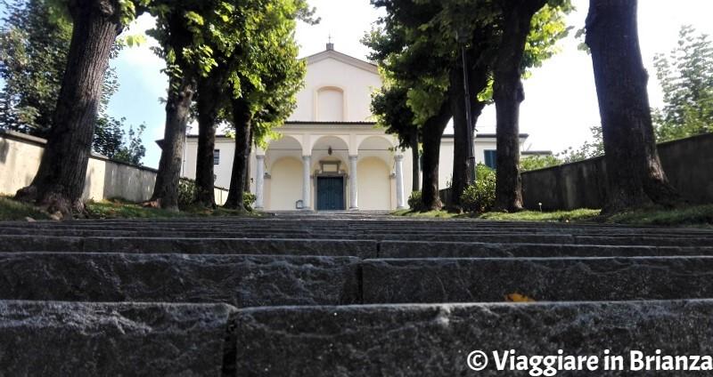 Montevecchia, il Santuario della Beata Vergine del Carmelo