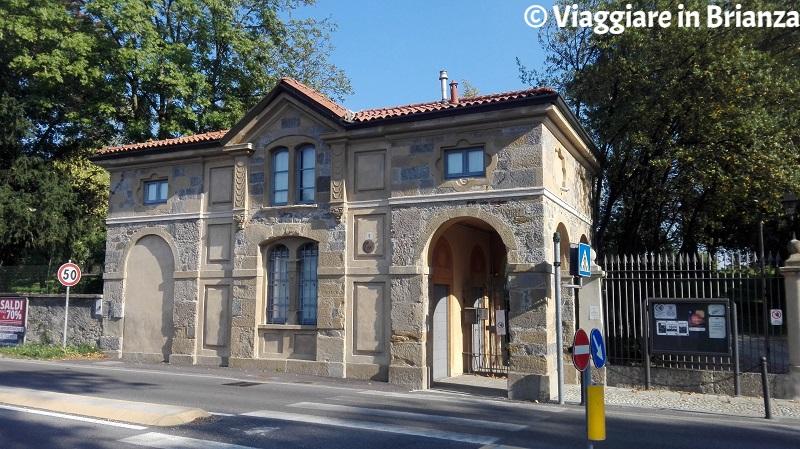 Monticello Brianza, la portineria di Villa Greppi
