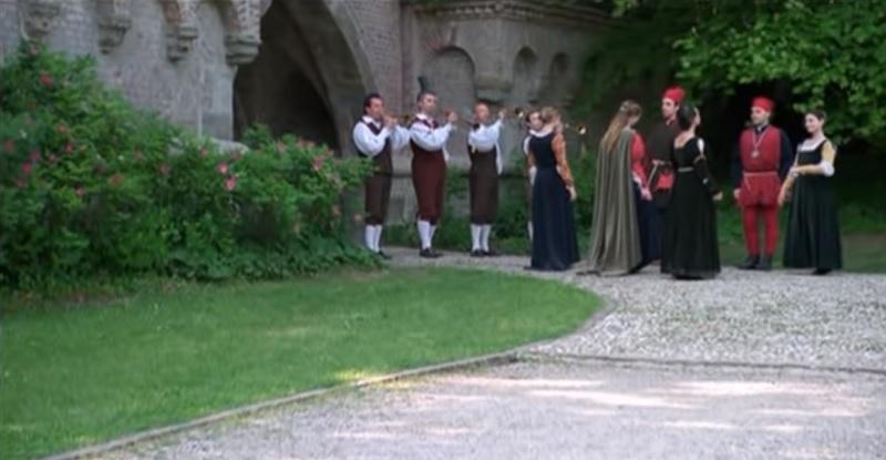 Musikanten alle Mura Neogotiche di Monza