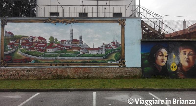 Cosa fare a Cantù, il murale della Giubiana